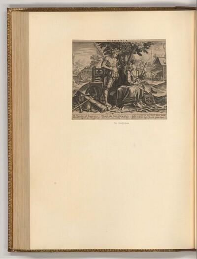Germania von Johann Sadeler d. Ä.