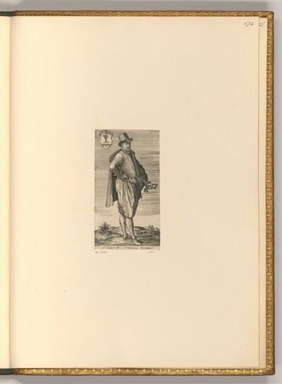 Porträt Corstianus Overschie von Antonie Wierix II
