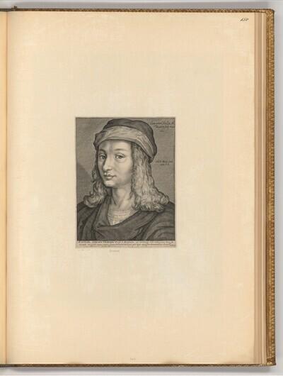 Porträt Raffaello Santi von Jacob Matham