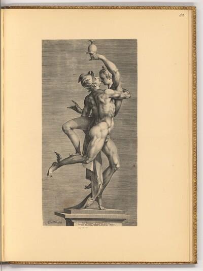 Merkur entführt Psyche von Jan Harmensz. Muller