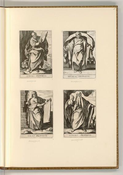 Propheten von Raffaello Schiaminossi