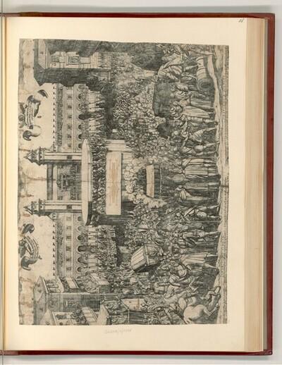 Zeremonie für die Präsentation des Turiner Grabtuchs von Antonio Tempesta