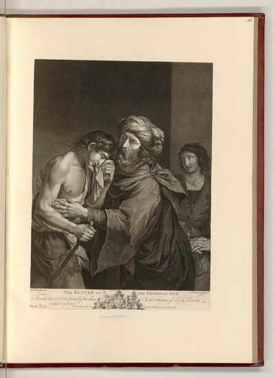 The Return of the Prodigal Son von Simon François Ravenet