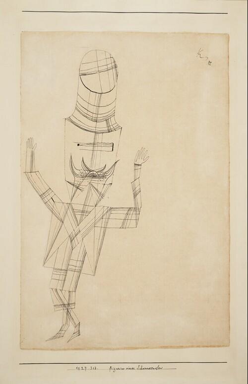 Figurine eines Schwankenden von Paul Klee