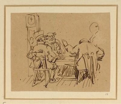 Herr und Frau Knopp: Knopp geht mal aus (5) von Wilhelm Busch