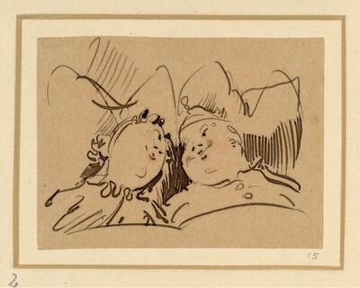 Herr und Frau Knopp: Eheliche Ergötzlichkeiten (2) von Wilhelm Busch