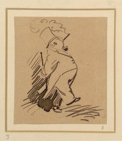 Herr und Frau Knopp: Knopp geht mal aus (3) von Wilhelm Busch