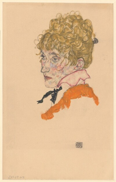 Edith Schiele von Egon Schiele