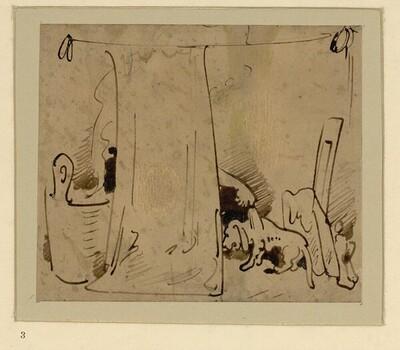 Das warme Bad (3) von Wilhelm Busch