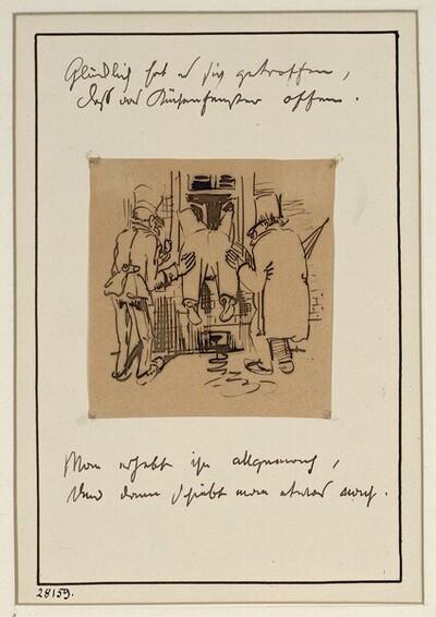 Herr und Frau Knopp: Heimkehr (2) von Wilhelm Busch