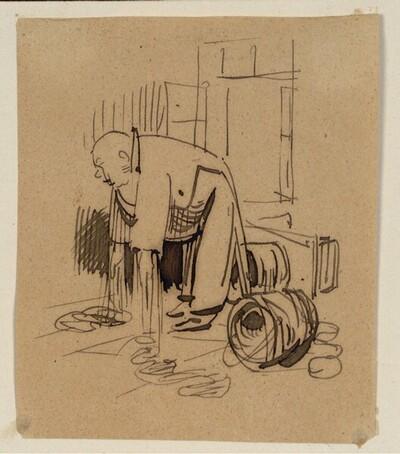 Herr und Frau Knopp: Heimkehr (5) von Wilhelm Busch