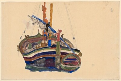 Triestiner Fischerboot