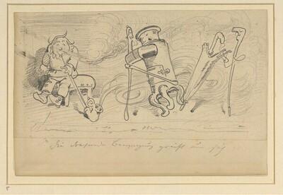 Krischan mit der Piepe 5 von Wilhelm Busch