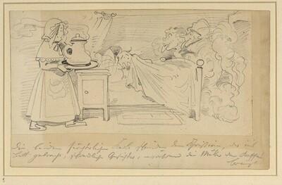 Krischan mit der Piepe 12 von Wilhelm Busch