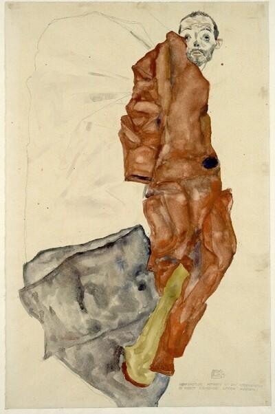 """""""Den Künstler hemmen ist ein Verbrechen, es heisst keimendes Leben morden!"""" von Egon Schiele"""