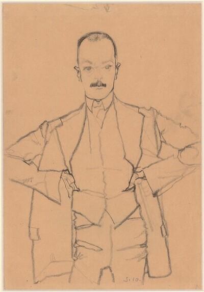 Arthur Roessler von Egon Schiele