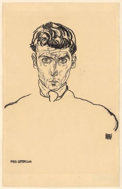 Albert Paris Gütersloh von Egon Schiele
