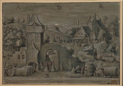 Der Herbst von Frederik van Valckenborch
