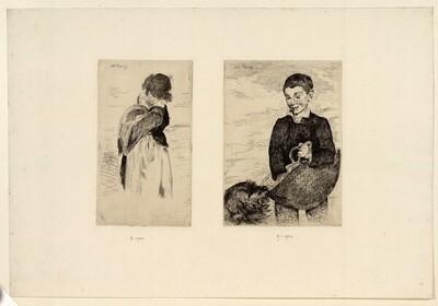 Das kleine Mädchen von Edouard Manet