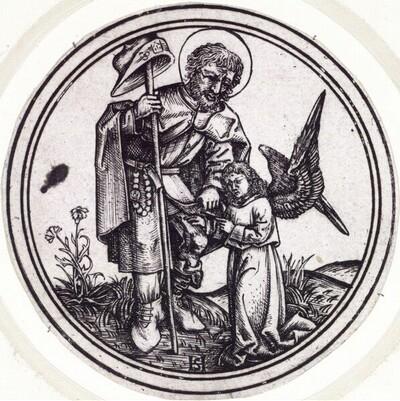 Heiliger Rochus von Monogrammist HS