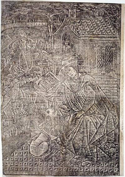 Der hl. Hieronymus im Gehäus von Anonym