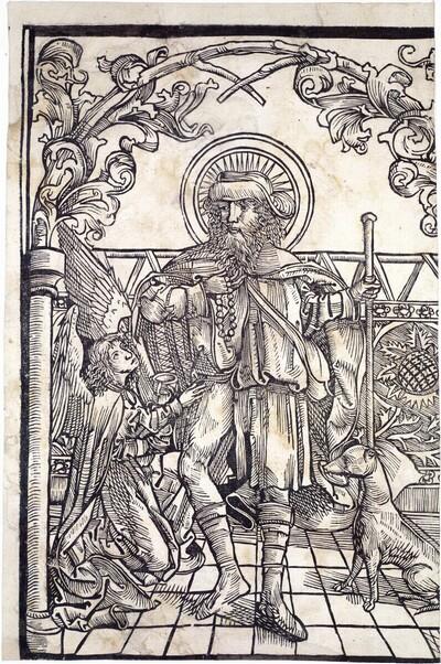 Heiliger Rochus von Michael Wolgemut