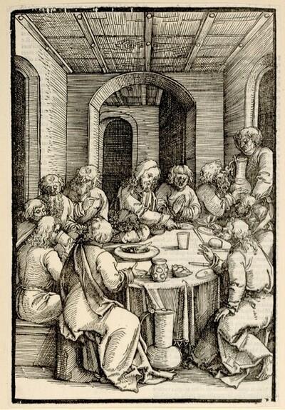 Das letzte Abendmahl von Hans Schäufelin