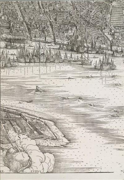 Ansicht von Venedig von Jacopo de' Barbari