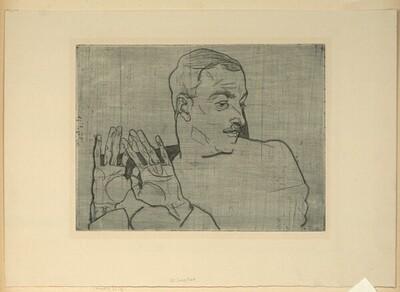 Bildnis Arthur Rössler von Egon Schiele