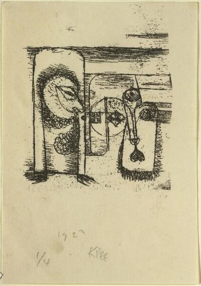 Ohne Titel (Gesichter) von Paul Klee