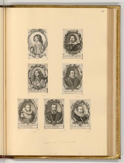 Männerporträts von Wenzel Hollar