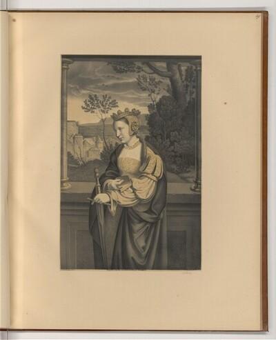 Hl. Katharina von Johann Nepomuk Strixner