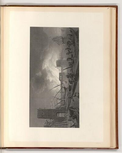 Nächtlicher Brand in einem Seehafen von Claude-Joseph Vernet