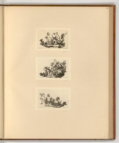 Spielende Kinder von Christian Wilhelm Ernst Dietrich