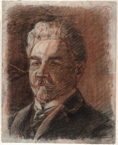 Porträt Leopold Czihaczek von Egon Schiele