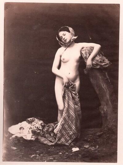 Mädchenakt von Felix J. A. Moulin