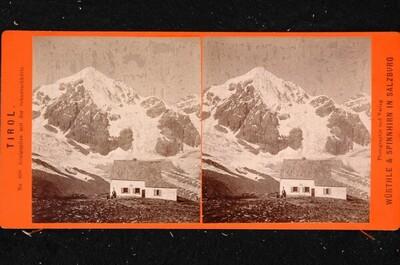Tirol, Königspitze mit der Schaubachhütte von Friedrich Würthle