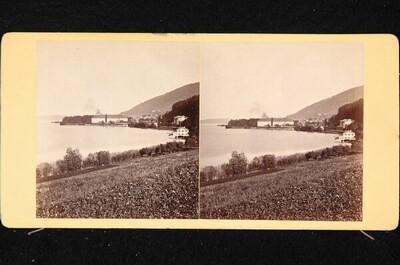 Bayerisches Hochland: Schloss und Dorf Tegernsee von Johann Friedrich Stiehm