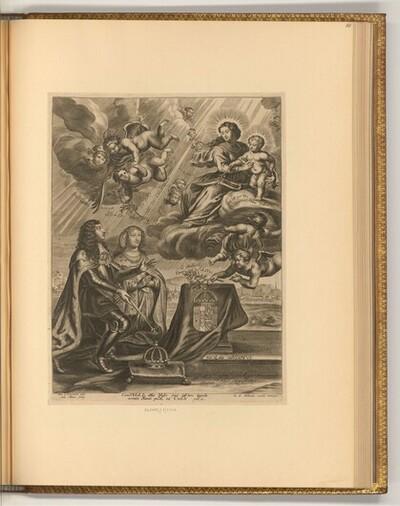Porträt Ludwig XIII., König von Frankreich (Allegorie)