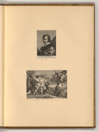 Porträt Jan Boeckhorst; Die Töchter des Kekrops von Pieter de Bailliu