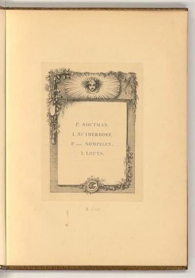 P. Soutman; I. Suyderhoef; P. van Sompelen; I. Louys von Joseph Fischer