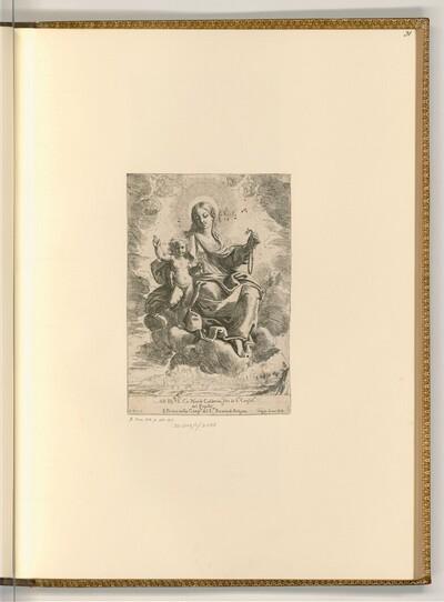 Rosenkranzmadonna von Domenico Maria Canuti