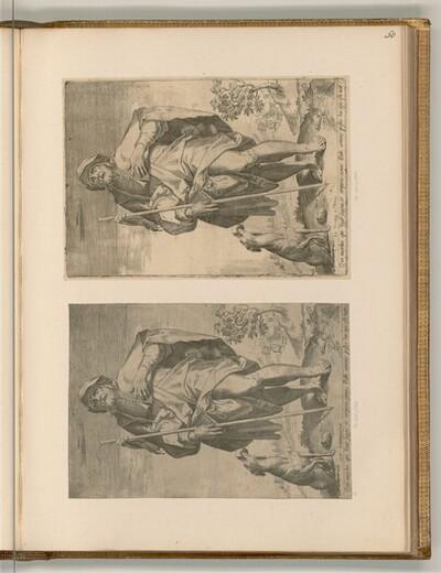 Heiliger Rochus von Agostino Carracci