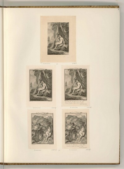Ariosto, Ludovico: Der rasende Roland (Buchillustration) von Francesco Bartolozzi