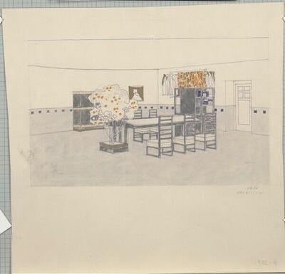 Interieur, Secession von Leopold Bauer