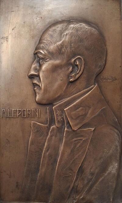 Heinrich Leporini (Mario Arrigo Giuseppe de Leporini) von Adolf Josef Pohl