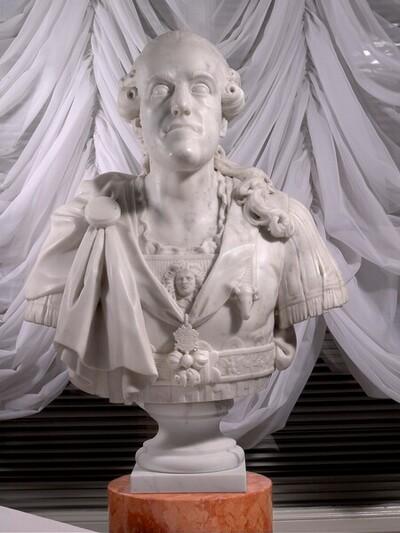 Herzog Albert von Sachsen-Teschen von Franz Xaver Messerschmidt